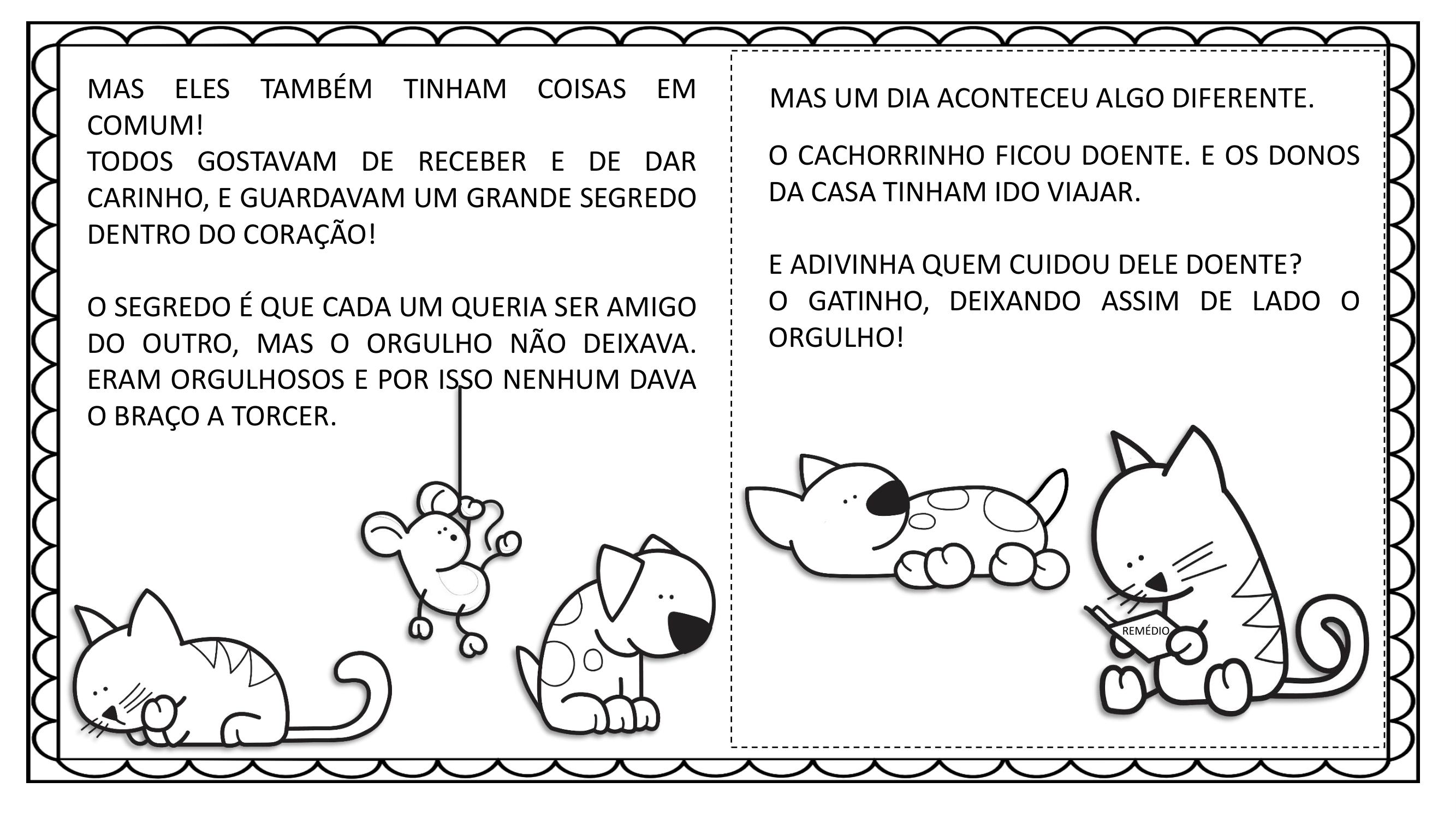 Livro Infantil Os 3 amiguinhos - Vania Silva-